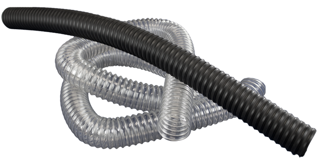Flex hose for industrial duct applications