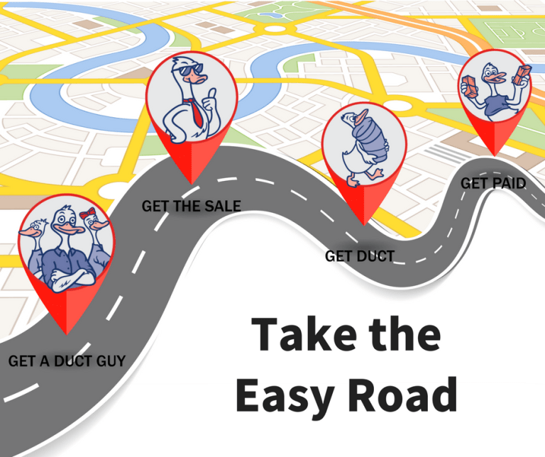 take the easy road