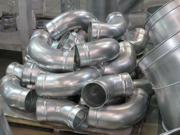 Industrial Duct Fittings Ductwork Fittings Amp Components