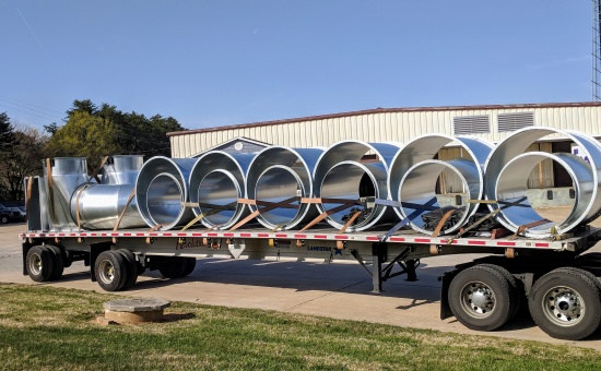 shipping ductwork